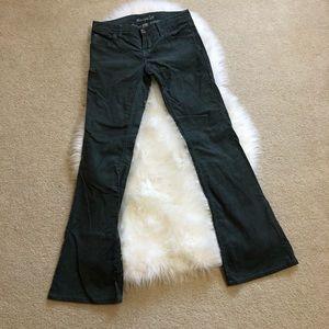 American Eagle green corduroy pants size 2